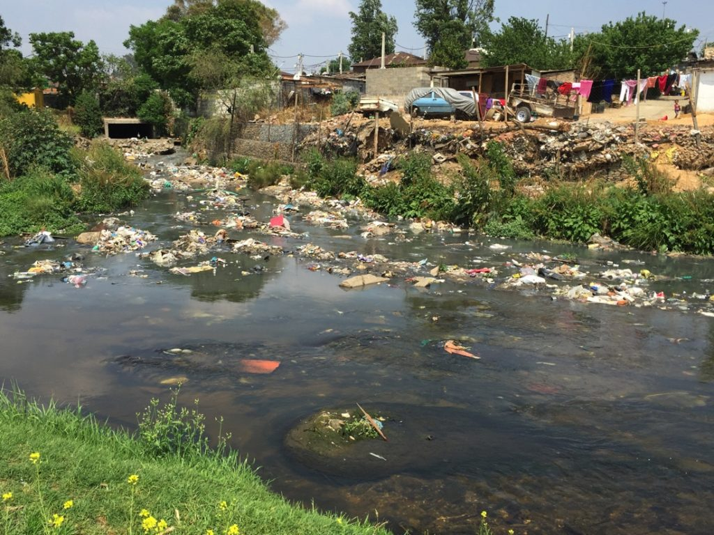 Jukskei River Pollution DS Alfred Nzo May 2016